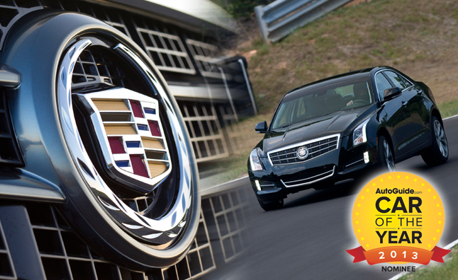 2013 autoguide car of the year nominee cadillac ats autoguide com rh autoguide com Cars Blu-ray Car Guide Car User Guide
