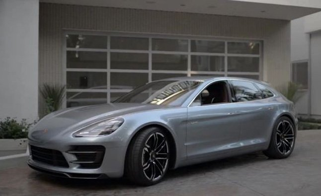 Porsche panamera sport hybrid concept makes video debut the porsche panamera sport turismo concept made its first public appearance at the 2012 paris auto show and now the automaker has released the first sciox Image collections
