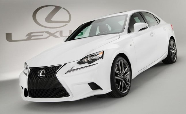 Great 2014 Lexus IS Revealed With New Specs, Dramatic F Sport Styling