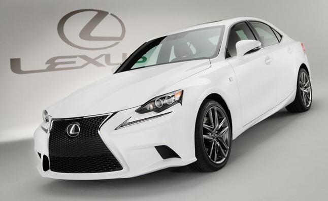 2014 Lexus Is Revealed With New Specs Dramatic F Sport