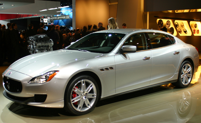 2014 maserati quattroporte gets twin turbo ferrari engines news. Black Bedroom Furniture Sets. Home Design Ideas