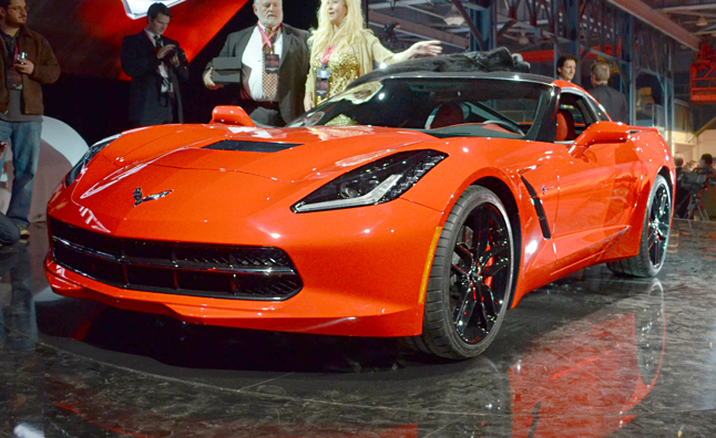 2014 Chevrolet Corvette Stingray Ignites 2013 Detroit Auto