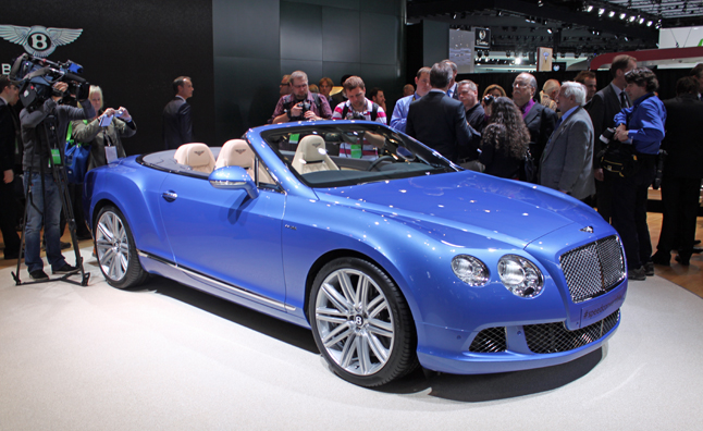 Bentley Continental Gt Sd Convertible Is A Blue Blooded Beauty 2017 Detroit Auto Show