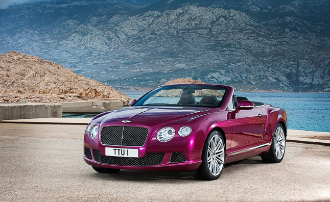 bentley continental gt speed convertible is world's fastest four