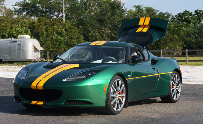 bob lutz 39 s lotus evora s now for sale news. Black Bedroom Furniture Sets. Home Design Ideas