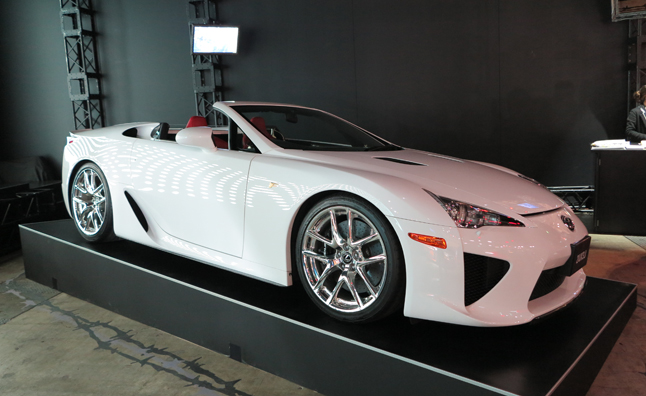 Lexus Lfa Convertible Archives Autoguide Com News
