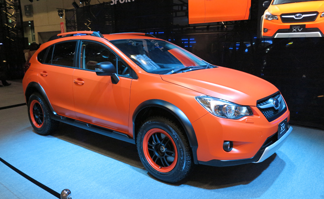 Subaru Xv Forester Get The Sport Concept Treatment 2013