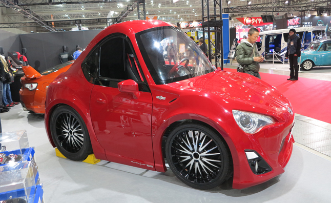 toyota gt 86 full size toy car is for big kids 2013 tokyo auto salon