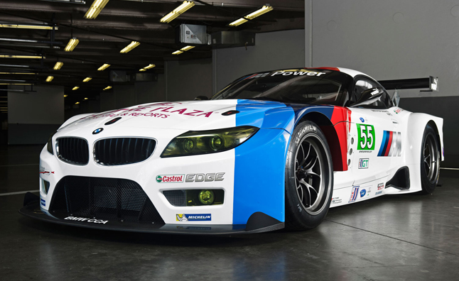 Marvelous BMW Z4 GTE ALMS Racer Revealed