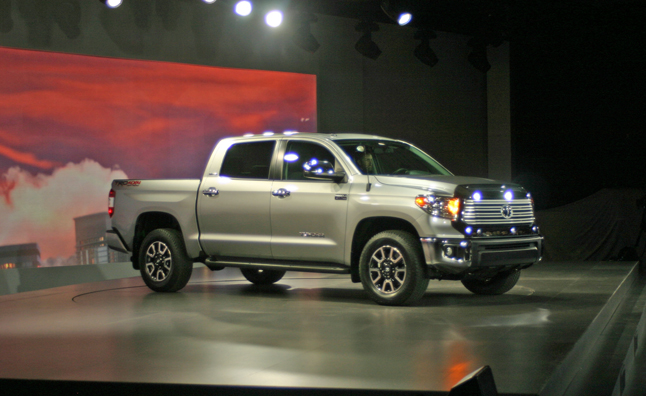 The Current Generation Toyota Tundra Debuted During The Chicago Auto Show  In 2007 And Today, Toyota Brought Its New 2014 Tundra To The Same Event.