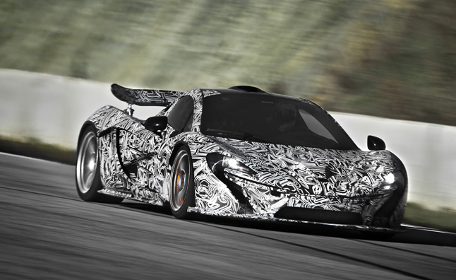 Mclaren P1 To Make 903 Hp From Twin Turbo 3 8l V8 Hybrid