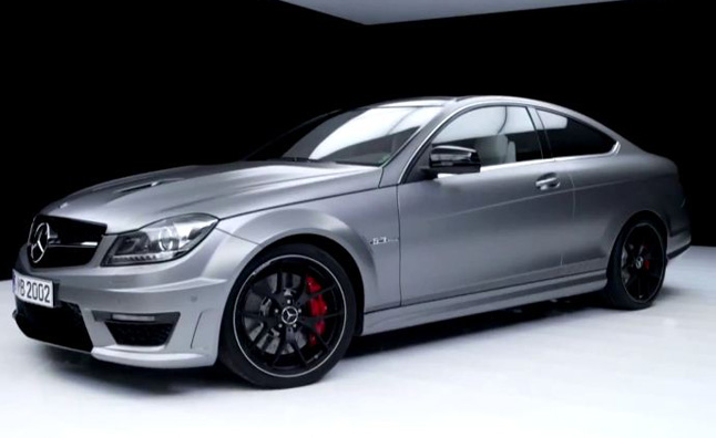 Mercedes c63 amg edition 507 video released autoguide for Mercedes benz c63 amg edition 507