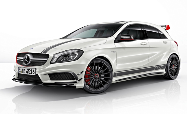 Mercedes A45 Amg Edition 1 Is The Latest German Hot Hatch Video