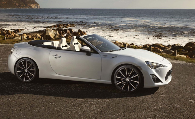 Toyota Gt 86 Convertible Leaked Ahead Of Geneva Motor Show