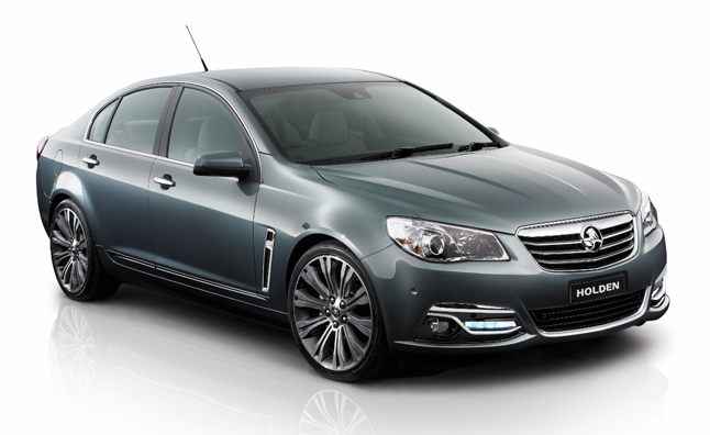2014 Chevrolet SS Sedan Previewed with Holden VF Commodore  Video