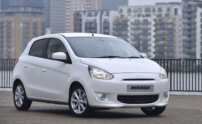 as mitsubishi ponders a new sedan and suv for the north american marketplace in the more immediate future it will announce the return of the mirage model