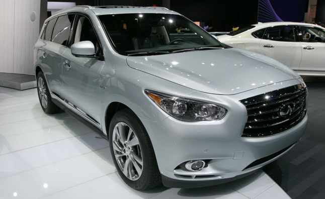 2014 infiniti qx60 hybrid unveiled with 26 mpg average ny. Black Bedroom Furniture Sets. Home Design Ideas