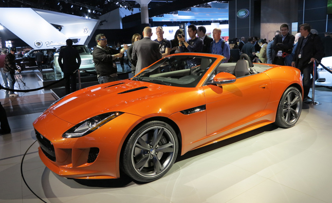 Jaguar F Type Wins 2013 World Car Design Of The Year