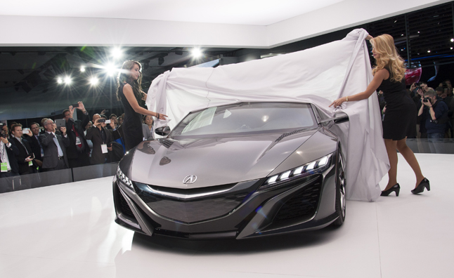 Acura Gears Up To Take Nsx Racing