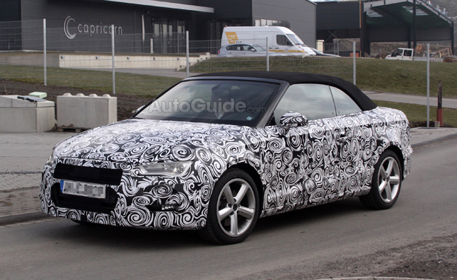 Audi A3 Convertible Spotted Testing 187 Autoguide Com News