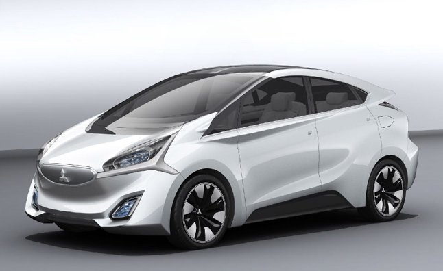 Mitsubishi CA-MiEV Revealed With 186-Mile Electric Range ...