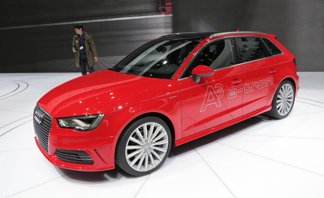 Among The Gas Guzzling Supercars That Debuted Today At 2017 Geneva Motor Show Is A New Fuel Sipper From Audi A3 E Tron Plug In Hybrid