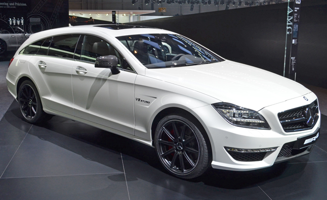 Mercedes cls63 amg shooting brake s model 4matic is a lot for Mercedes benz cls station wagon