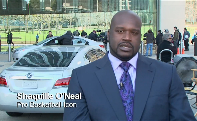 shaq to star in new buick lacrosse ad - video » autoguide news