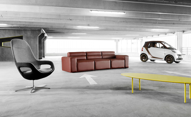 Incroyable Smart Partners With Danish Design Company On Furniture, Custom Car