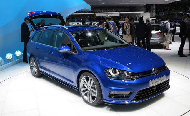Volkswagen Golf Estate Concept R Line Previews A Sporty