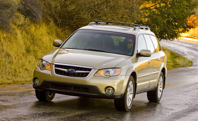subaru legacy outback recalled for brake issues. Black Bedroom Furniture Sets. Home Design Ideas