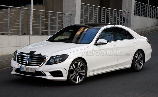 2014 mercedes s class design revealed in spy photos for New mercedes benz s class 2014