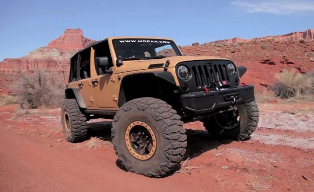 Jeep Wrangler Sand Trooper Concept Video First Look