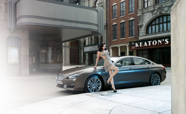 BMW 6 Series Gran Coupe Gets Burlesque Style Photo Shoot » AutoGuide.com News