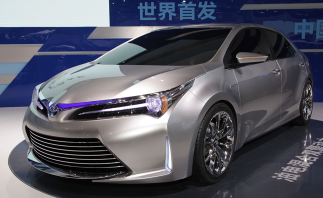 Toyota Hybrid Concept Hints At Possible Corolla Hybrid