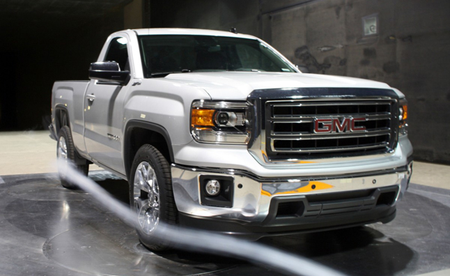 2014 gmc sierra standard cab quietly revealed autoguide news gmc debuted the standard cab version of its 2014 sierra pickup today in a press release about the trucks aerodynamics voltagebd Gallery