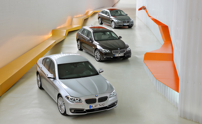 BMW Has Formally Announced Its 5 Series Lineup For The 2014 Model Year,  Revealing The Updated Sedan, Touring, Gran Turismo, And ActiveHybrid Models.