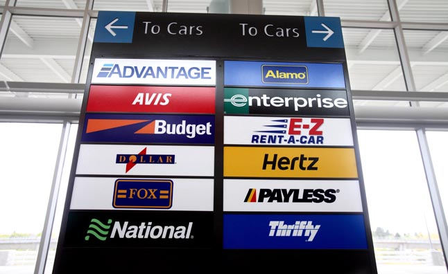 Budget Car Rental Seattle Airport