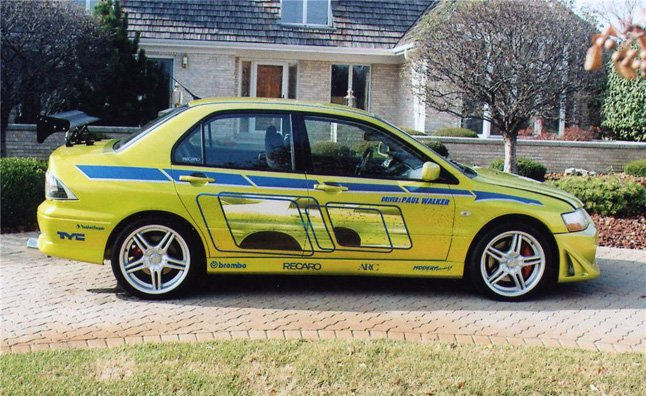 mitsubishi evolution from 2 fast 2 furious for sale » autoguide