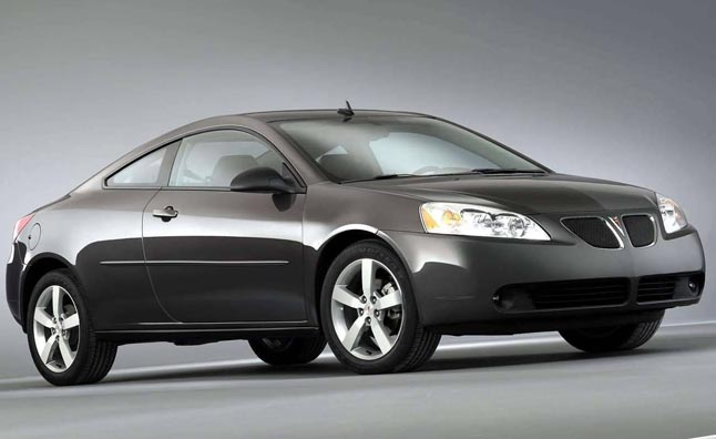 Pontiac G6 Reviewed By Feds For Faulty Brake Lights