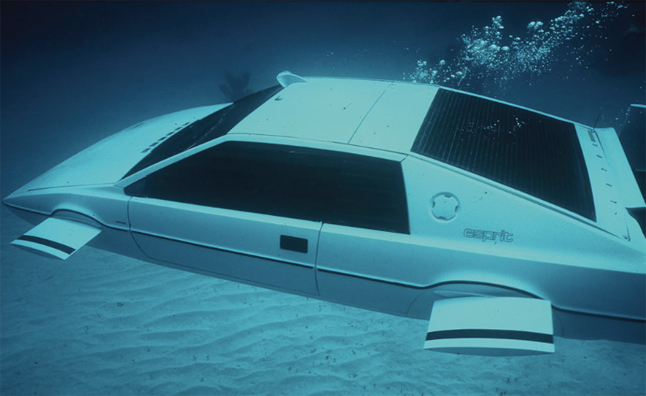 1977 Lotus Esprit 007 Submarine Heading To Rm Auctions