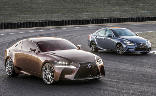 Lexus Shows How The LF CC Concept Inspired The 2014 IS 350 F Sport
