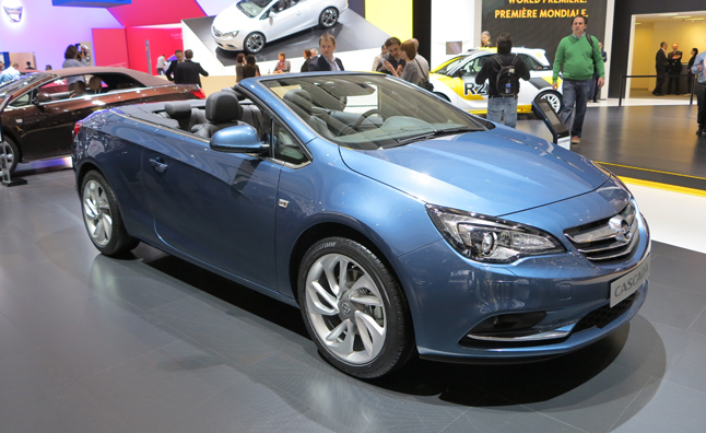 gm ceo wants opel cascada adam models added to buick lineup news. Black Bedroom Furniture Sets. Home Design Ideas