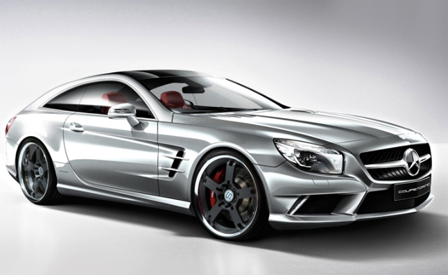mercedes sl shooting brake concept previewed autoguide