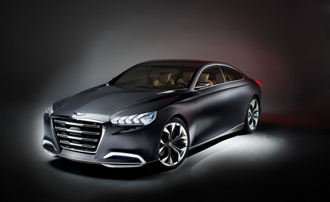 Hyundai Genesis To Bow At Detroit Auto Show With All Wheel