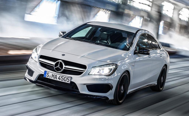 Mercedes FrontWheel Drive Line Could Grow by 2018  AutoGuidecom