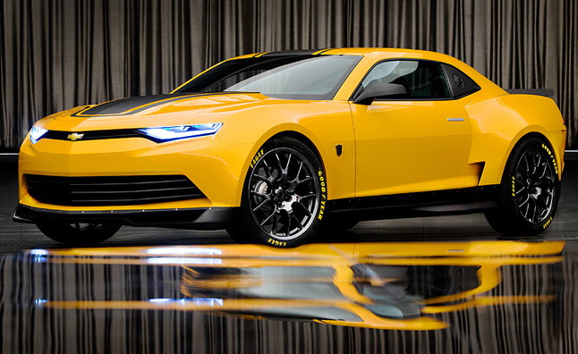 2014 Chevrolet Camaro Concept Is The New Bumblebee
