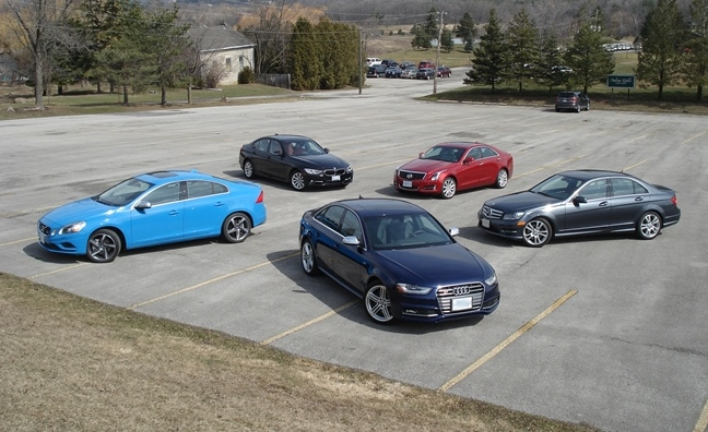 2013 Sports Sedan Comparison Bmw 335 Vs Audi S4 Vs