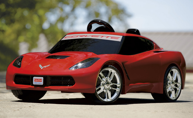 power wheels c7 corvette is a starter stingray autoguide. Black Bedroom Furniture Sets. Home Design Ideas