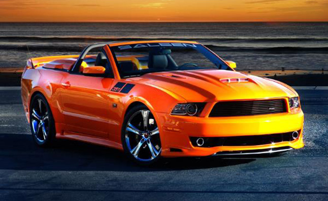 saleen 351 ford mustang now in production news. Black Bedroom Furniture Sets. Home Design Ideas
